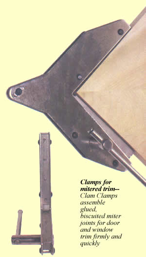 Clam Clamp Miter Clamp Review By Fine Woodworking Magazine